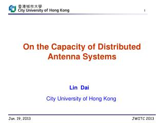 On the Capacity of Distributed Antenna Systems