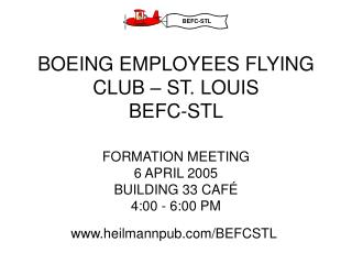 BOEING EMPLOYEES FLYING CLUB – ST. LOUIS BEFC-STL