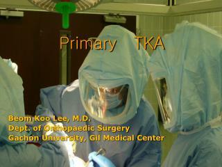 Primary   TKA