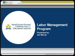 Labor Management Program