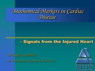 Biochemical Markers in Cardiac Disease