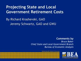 Projecting State and Local Government Retirement Costs