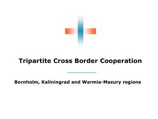 Tripartite Cross Border Cooperation
