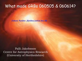 What made GRBs 060505 & 060614?