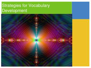 Strategies for Vocabulary Development