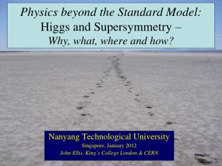 Physics beyond the Standard Model: Higgs and Supersymmetry – Why, what, where and how?