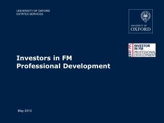 Investors in FM Professional Development