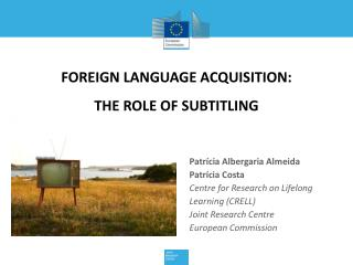 Foreign language acquisition: the role of subtitling