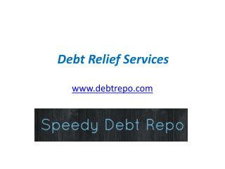 Debt Relief Services - www.debtrepo.com