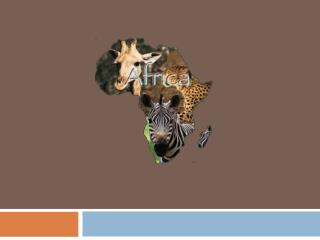 Africa – Human Geography