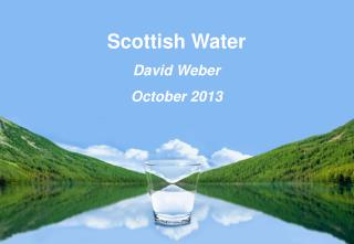 Scottish Water David Weber October 2013