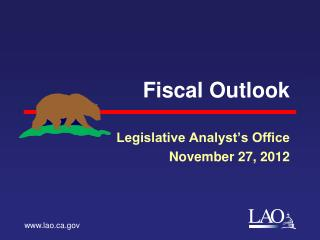 Fiscal Outlook
