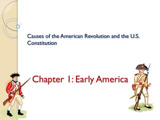 Chapter 1: Early America
