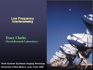 Low Frequency Interferometry