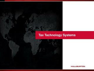 Tax Technology Systems