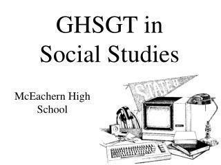 GHSGT in Social Studies