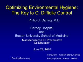 Massachusetts CDI Preventative Collaboration June 24, 2010