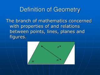 Definition of Geometry