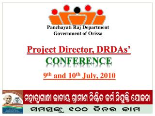 Project Director, DRDAs' CONFERENCE