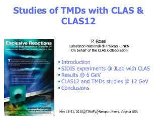 Studies of TMDs with CLAS & CLAS12