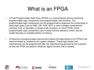 What is an FPGA