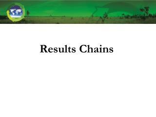 Results Chains