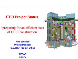 ITER Project Status