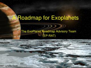 A Roadmap for Exoplanets