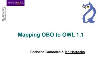 Mapping OBO to OWL 1.1
