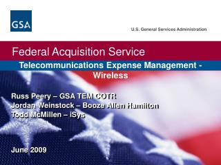 Telecommunications Expense Management - Wireless