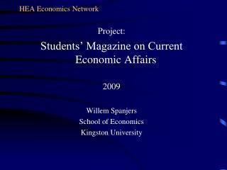 HEA Economics Network