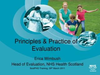 Principles & Practice of Evaluation