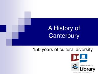 A History of Canterbury