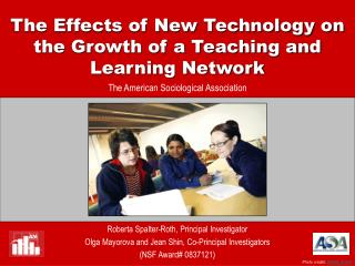 The Effects of New Technology on the Growth of a Teaching and Learning Network