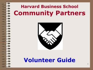 Harvard Business School Community Partners