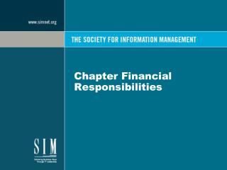 Chapter Financial Responsibilities