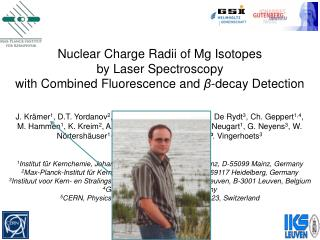 Nuclear Charge Radii of Mg Isotopes  by Laser Spectroscopy