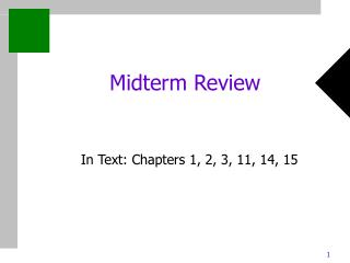 Midterm Review