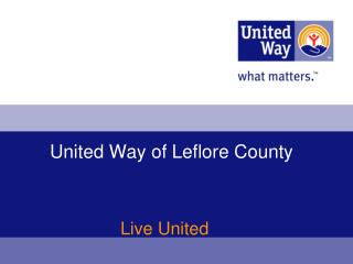 United Way of Leflore County