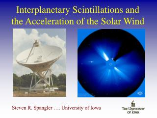 Interplanetary Scintillations and the Acceleration of the Solar Wind