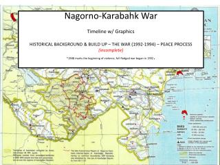 TIMELINE – Background History and Build Up to 1992 War