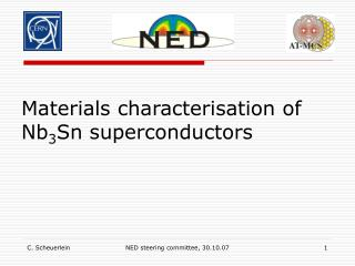 Materials characterisation of Nb 3 Sn superconductors