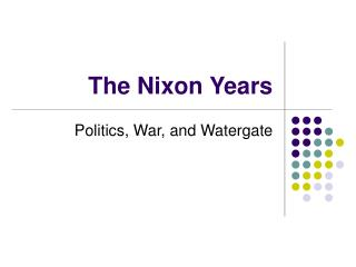 an analysis of the impact watergate scandal in american society and politics Notes on scandal and the watergate  discusses the impact of watergate on american politics,  the symbol of the power of the press in american society«.