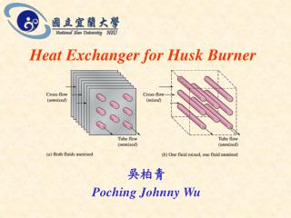 Heat Exchanger for Husk Burner