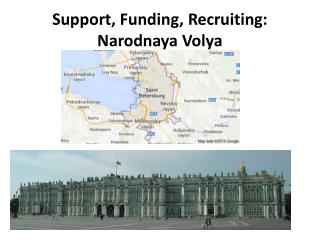 Support, Funding, Recruiting: Narodnaya Volya