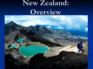 New Zealand: Overview