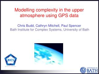 Modelling complexity in the upper atmosphere using GPS data