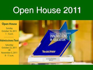 Open House 2011