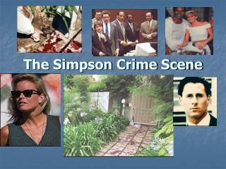 The Simpson Crime Scene