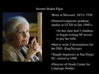 Suzette Haden Elgin